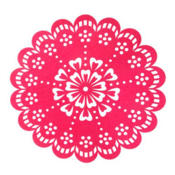 pink_felt_flower_placemat