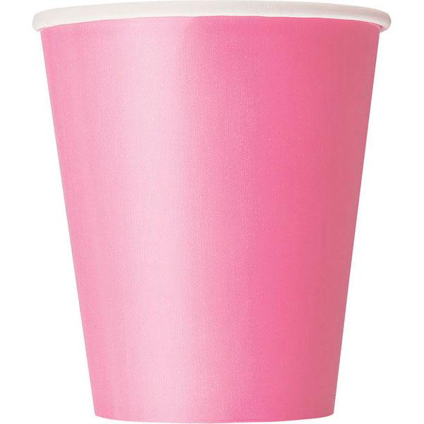 plain_hot_pink_cups