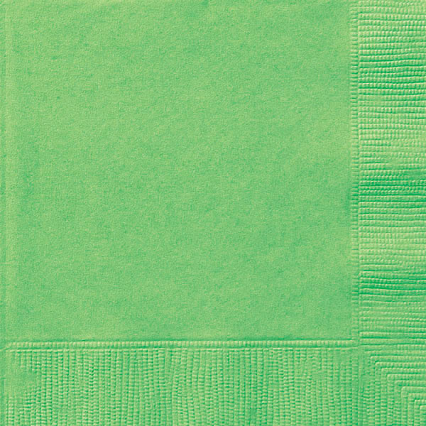 plain_lime_green_napkins
