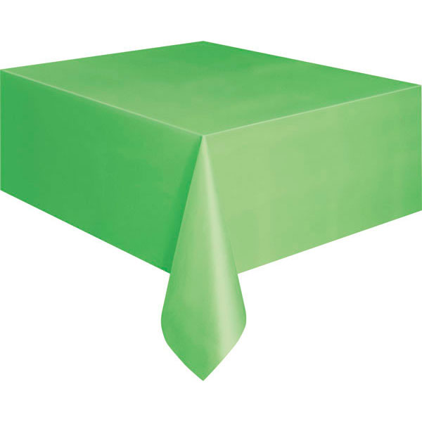 plain_lime_green_tablecover