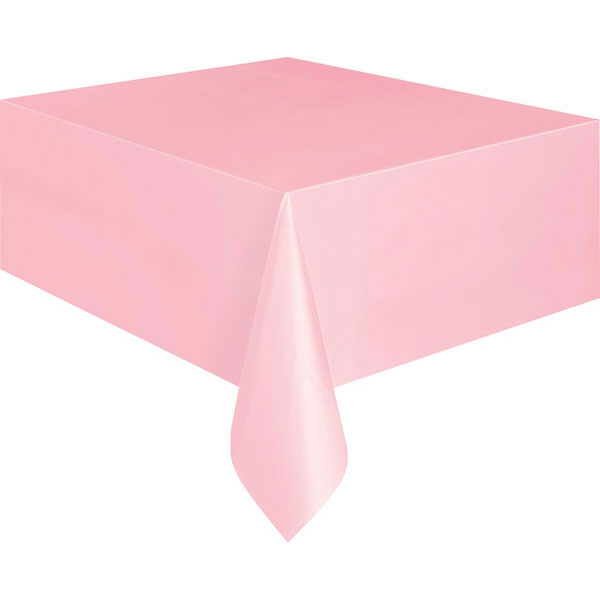 plain_pastel_pink_tablecover