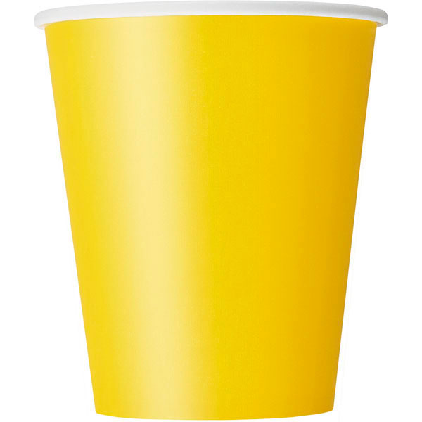 plain_sunflower_yellow_cups