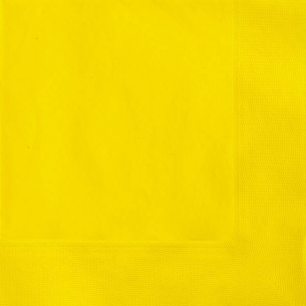 plain_sunflower_yellow_napkins