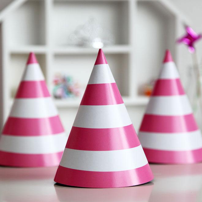 cone_hat_pink_stripe