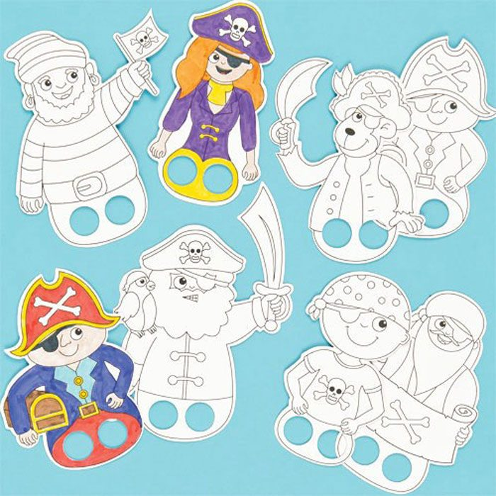colour_in_finger_puppets_pirates