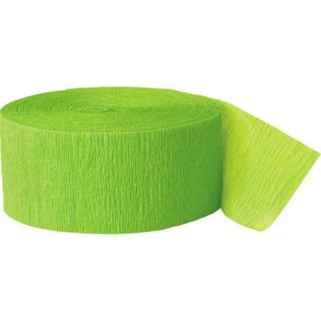 crepe_streamer_lime_green