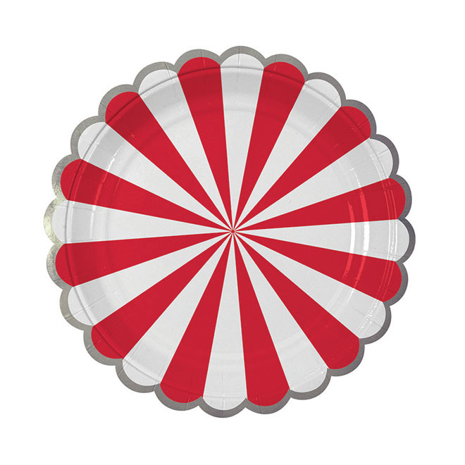 toot_sweet_red_stripe_plate