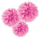 pink-pom-pom-decorations