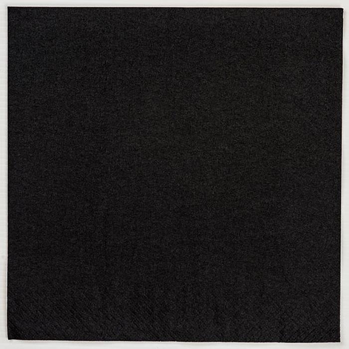 black-napkin